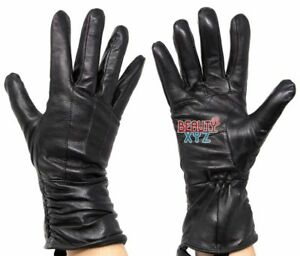 Women-039-s-Genuine-Leather-40-gram-Thinsulate-Insulated-Winter-Warm-Driving-Gloves