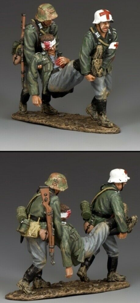 KING & COUNTRY WW2 GERMAN ARMY WH035 BATTLEFIELD RESCUE MIB