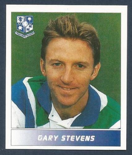 #286-TRANMERE-RANGERS//ENGLAND-EVERTON-GARY STEVENS PANINI FOOTBALL LEAGUE 1996
