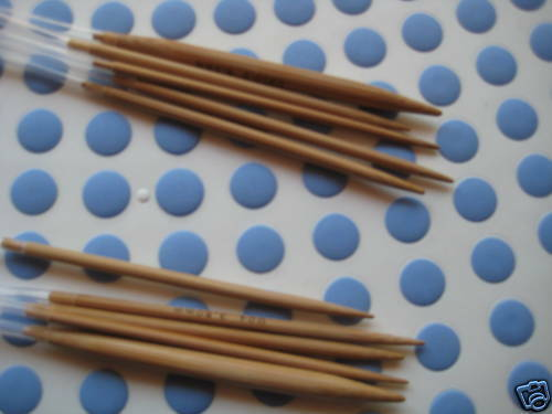 15 Bamboo Circular Knitting Needles  length 32/""