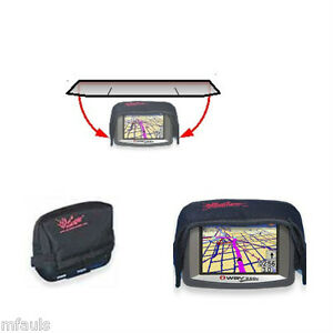 sun shade glare shield visor for garmin zumo 550 500 ebay. Black Bedroom Furniture Sets. Home Design Ideas