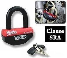 Mini-U-Antivol-Moto-Bloc-Disque-VECTOR-MINIMAX-Homologue-SRA