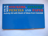 Fun With Stickers, Stencils, Pencils, And Paper - Book Of Ideas From Colorbok