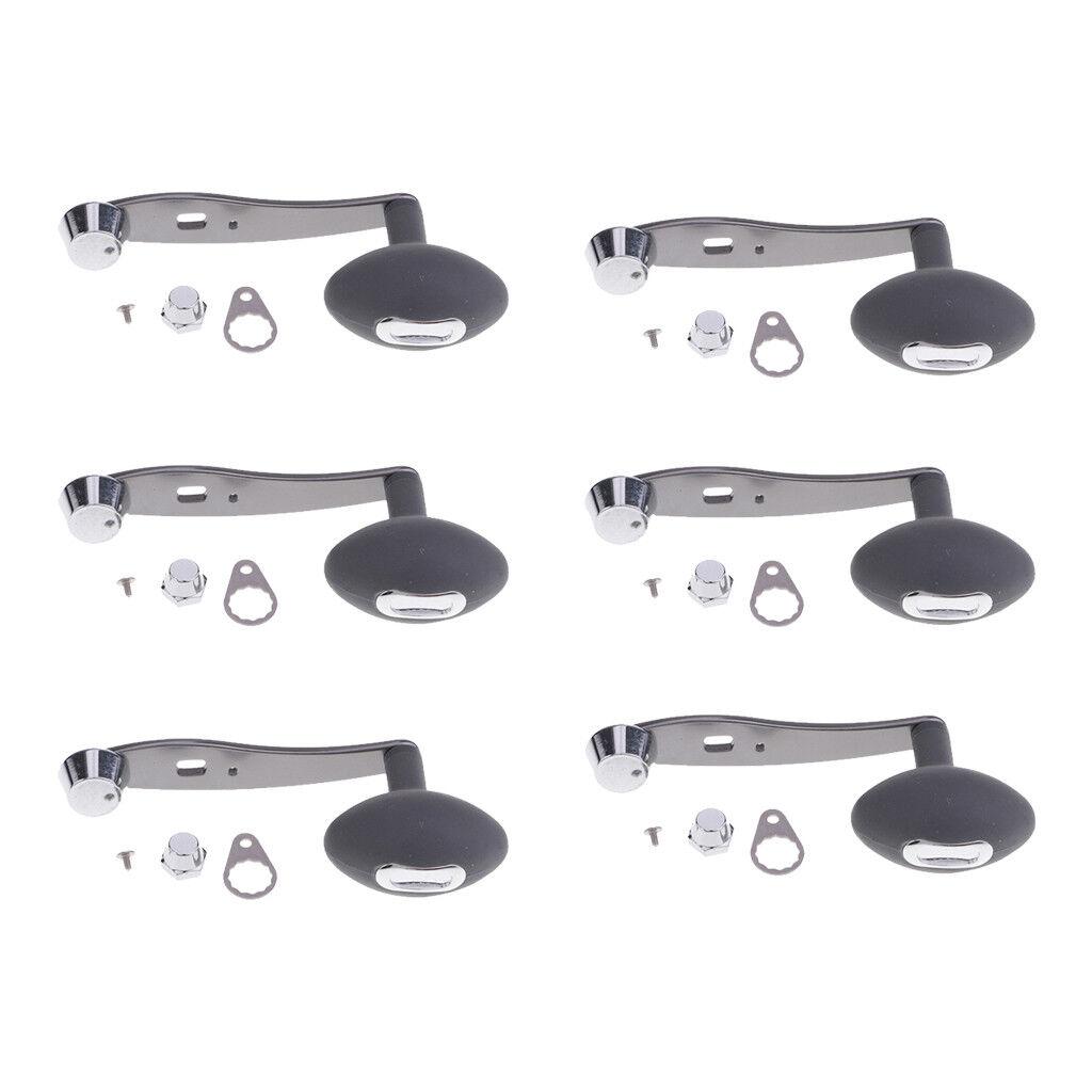 6pcs Super Power Aluminium Alloy Baitcasting Drum Reel Handle Knob  Grips 9cm  online shopping