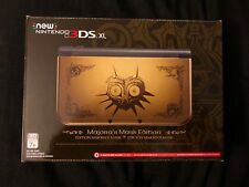Nintendo New 3DS XL Legend of Zelda: Majora's Mask Limited Edition 1GB Black & Gold Handheld System