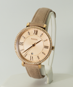 f26fb8fd05d Image is loading Women-039-s-Fossil-Watch-Jacqueline-Rose-Gold-