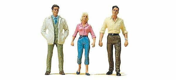 PREISER G SCALE FIGURES PASSERS-BY   45033