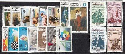 21422 GüNstig Einkaufen TÜrkisch-zypern Jahrgang **, 1985 Kpl