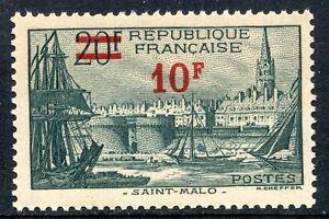 STAMP-TIMBRE-FRANCE-NEUF-N-492-PORT-DE-SAINT-MALO