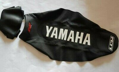 SEAT COVER ULTRA GRIPPER YAMAHA YZF 450//250 YZ250F YZ450F 2014-17,YELLOW /& BLACK