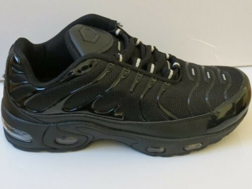 NEW IN BOX SIZE 13 SPORTS RUNNING SHOES BOYS TOP QUALITY BLACK TRAINERS