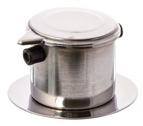 """2.5/"""" by 3.5/"""" FILTER VIETNAMESE STYLE STAINLESS STEEL COFFEE INFUSER NEW"""