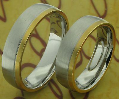 Aufrichtig 2 Eheringe Trauringe Verlobungsringe & Lasergravur Bestellungen Sind Willkommen.