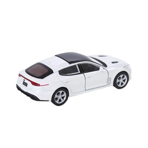 KIA Stinger Modellauto Sammlermodell 1:38 Weiß  Snow White Pearl