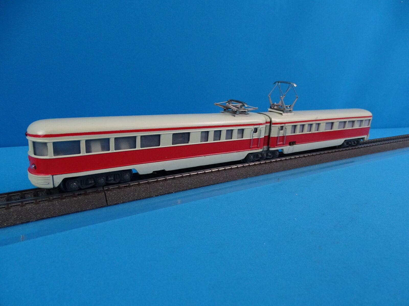 Marklin DT 800 DB Train Set Triebwagen Ivory-rosso