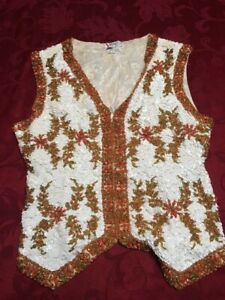 Vintage Valentina Ltd. Sequin Vest 1960's