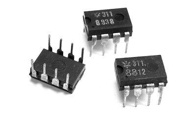 10PCS LM311 LM311P IC DIFF COMP W//STROBE 8DIP IC