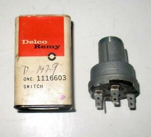 NOS 1962 CHEVROLET CHEVYII NOVA IGNITION SWITCH 1116603 D1429  NEW GM DELCO REMY