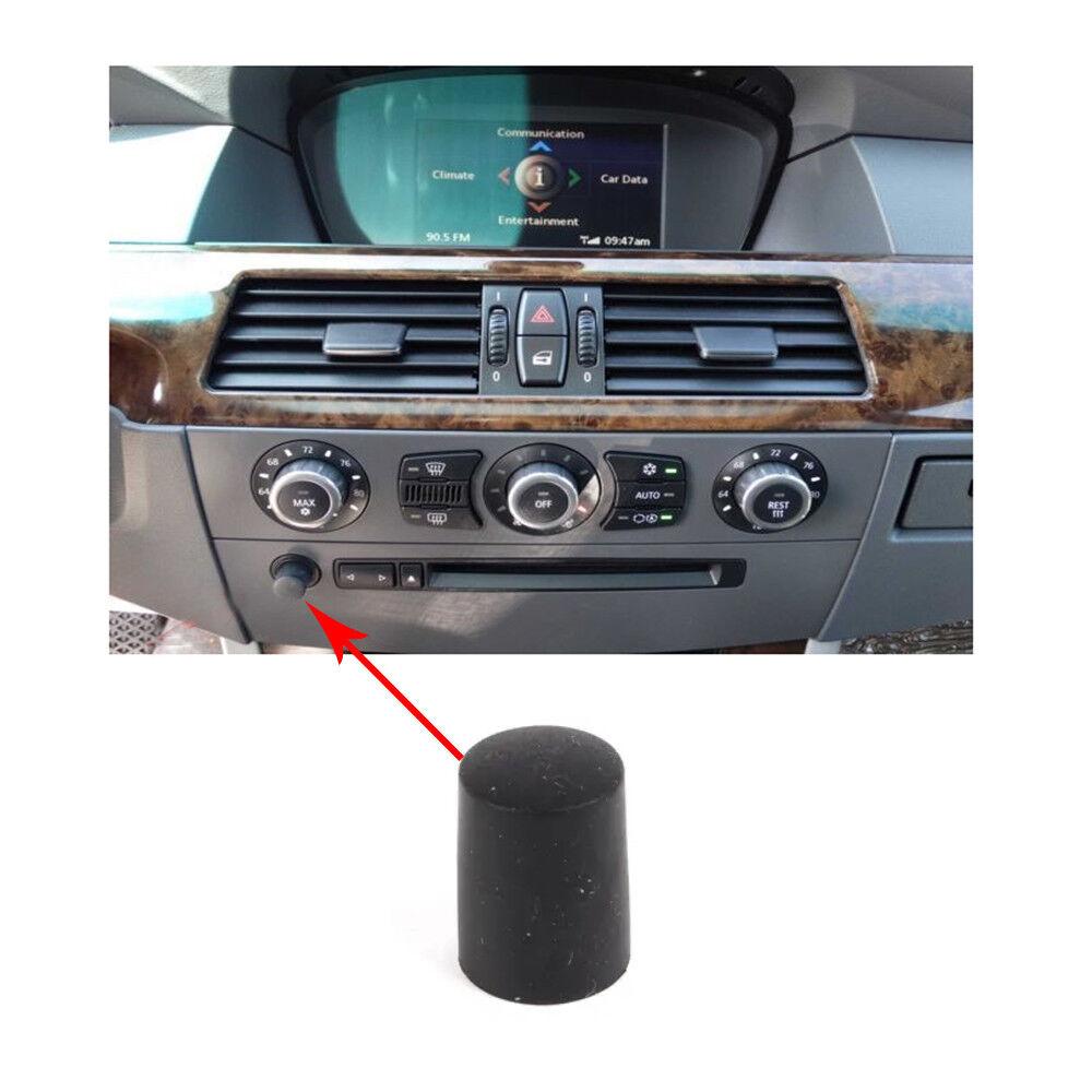 RADIO VOLUME KNOB DIAL RUBBER BMW E60 E61 525i 520d 530i 530d 545i 545 530 OEM