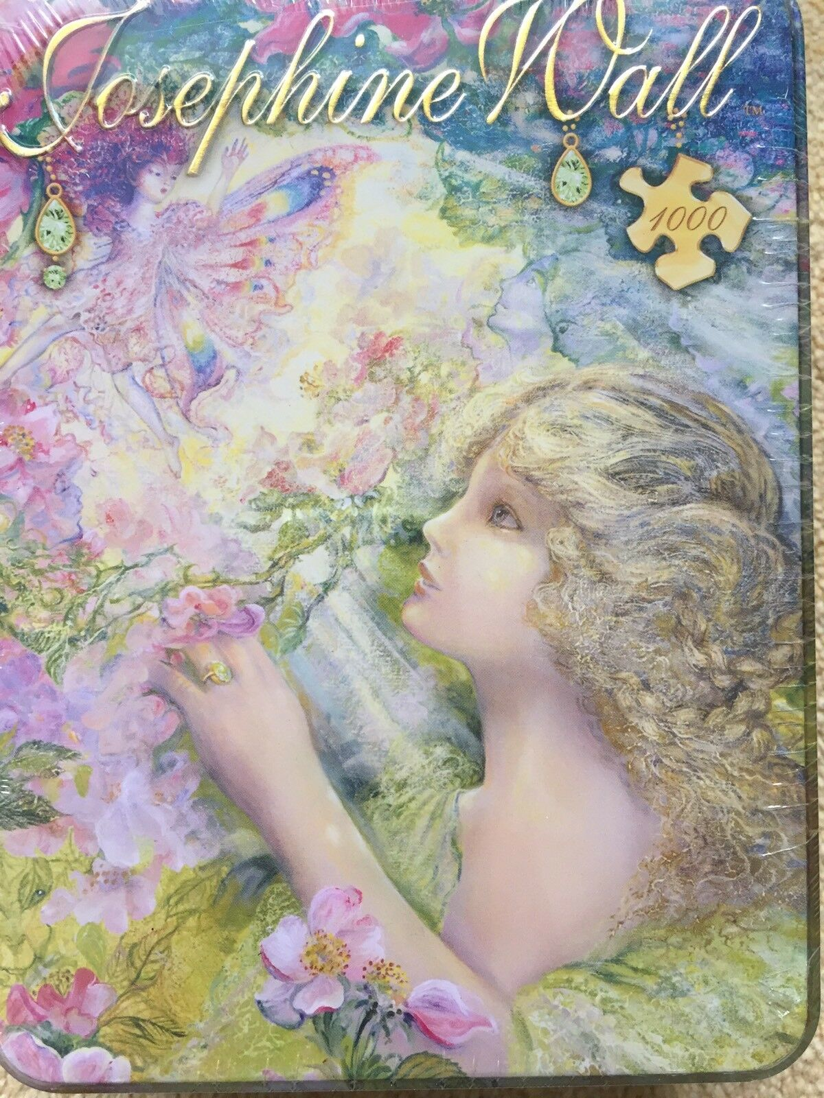 Josephine Wall 1000Masterpieces Jigsaw Puzzle In The Tin,NEW&SEALED,RARE