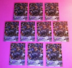 LOT (10) 2018 Topps Update MIKE TAUCHMAN Rookie Card LOT #US61 Yankees RC Nmmt