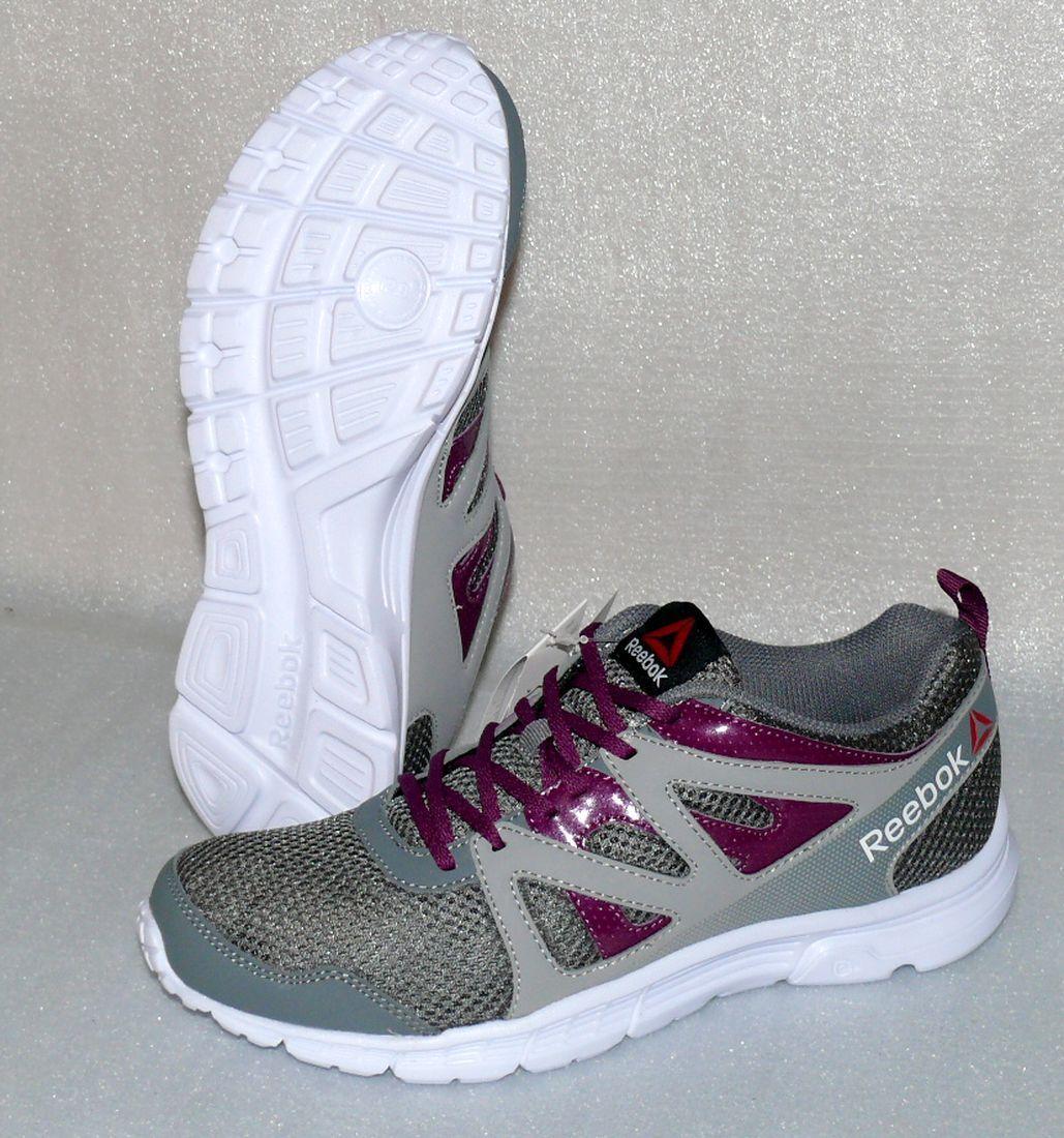 Reebok Run Supreme 2.0 V68878 Damen Schuhe Freizeit Sneaker EU 37 Grau Weiß Lila