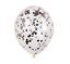 miniature 21 - Lot-de-12-confettis-ballons-latex-12-034-decorations-a-L-039-helium-Fete-D-039-anniversaire-Mariage