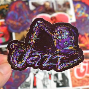50-musica-jazz-StickerBomb-Music-retrostickern-Pegatina-Sticker-Mix-Decals