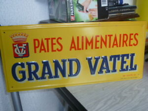 Ancienne-tole-litho-GRAND-VATEL