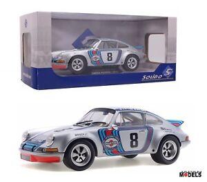 Porsche 911 Rsr Targa Florio - 1973 Moulé Sous Pression 1/18 S1801104 Nouveau Nouveau
