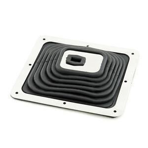 Shifter-Boot-Chrome-Plate-7-7-8-034-x-9-034-Large-Universal-Camaro-Firebird-Hot-Rod-et