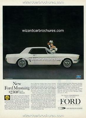 1965 CHEVROLET CORVETTE A3 POSTER AD ADVERT ADVERTISEMENT SALES BROCHURE MINT