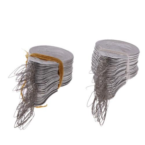 100 Stück Drahtschlaufe DIY Nadeleinfädler Stich Einsetzen Hand Maschine