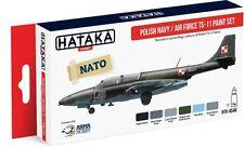 Hataka Hobby AS46 Polish Navy AD TS11 Camouflage Paint Set (6 Colors)