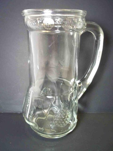 Vintage Anchor Hocking molded glass Golf bag