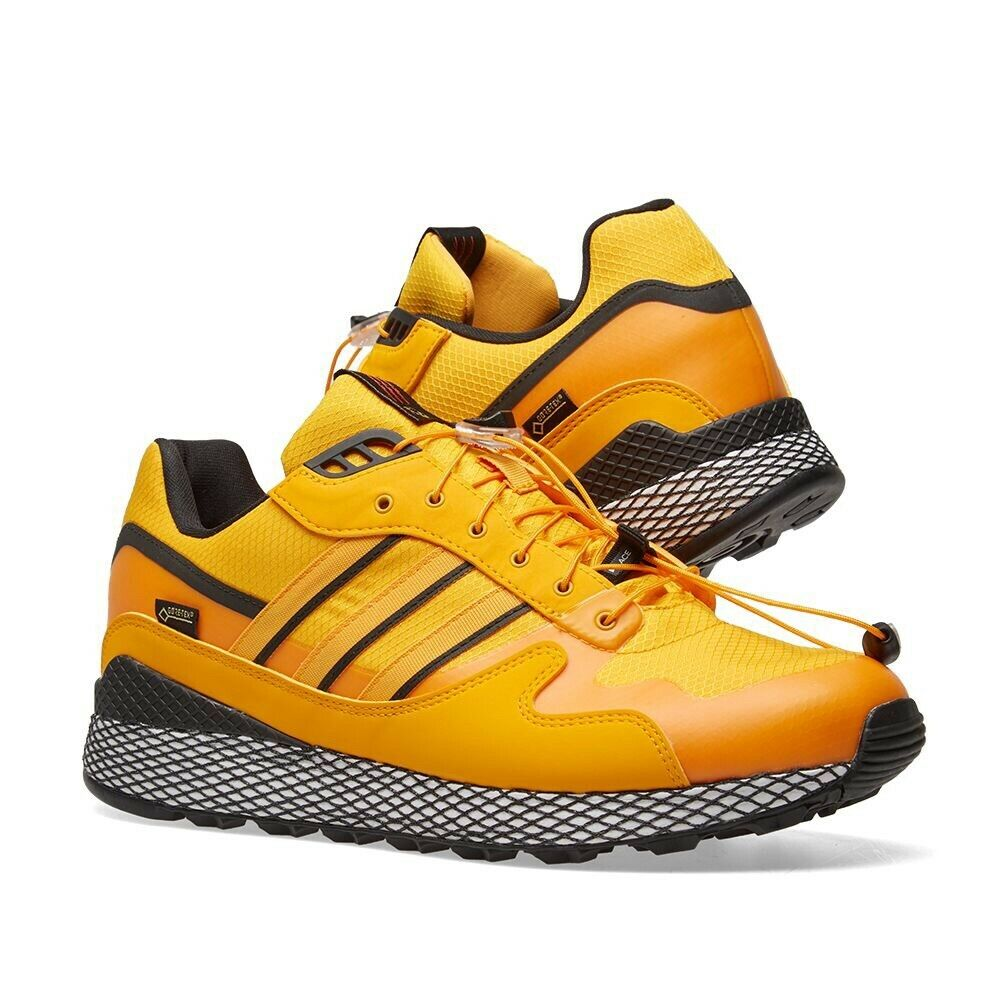 official photos 9e63a 8c397 ADIDAS CONSORTIUM X LIVESTOCK ULTRA TECH GORE-TEX YELLOW   CORE BLACK