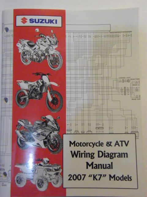 New 2007 Suzuki Motorcycle  U0026 Atv Wiring Diagram K7 Models