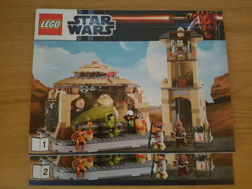 INSTRUCTION MANUAL ONLY LEGO STAR WARS 9516 Jabba/'s Palace