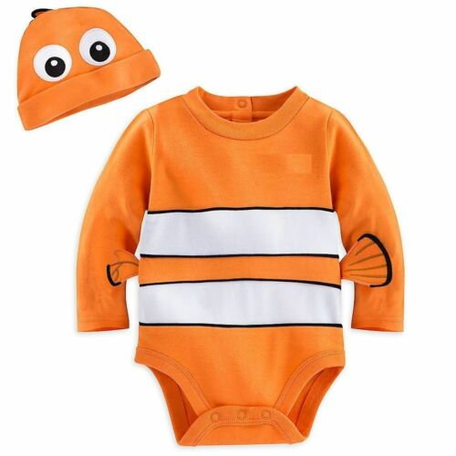 NWT Disney Store Finding Nemo Baby Costume Outfit /& Hat Size 12 18 24 Months