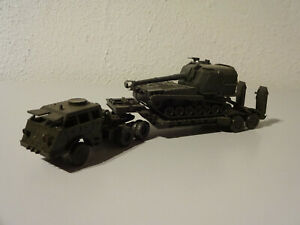 E10-20-Roco-Panzertranssport-Solid-Truck-Military-1-87-Used