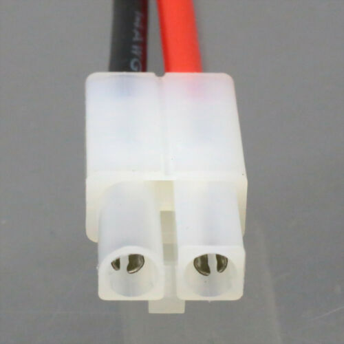 Tamiya male plug to Tamiya male extension Charge adapter wire 14# 4inch