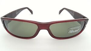 4c7910bd04 Image is loading PERSOL-SUNGLASSES-2639-S-236-S-31-BURGUNDY-