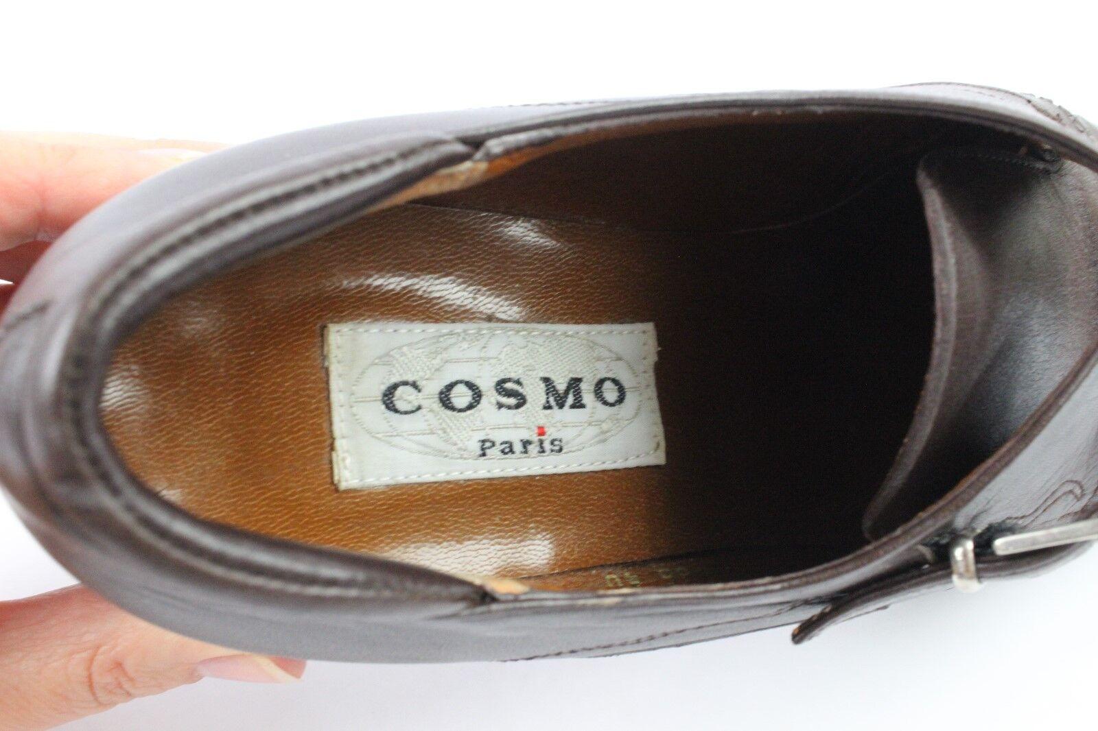 Oxfordschuhe spitz COSMO Paris alle t Leder braun t alle 40 sehr guter Zustand 2ae27d
