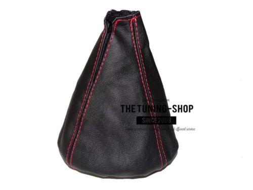 For Alfa Romeo Giulietta 10-18 Gear Stick Gaiter Leather Black Stitching Red