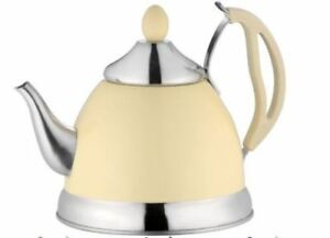 Image Is Loading 1 5 Litre Stainless Steel Tea Pot With