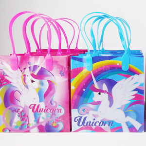 Magical-Unicorn-Birthday-Party-Bags-Treat-Boxes-Goody-Candy-Bags-Filler-LootGift