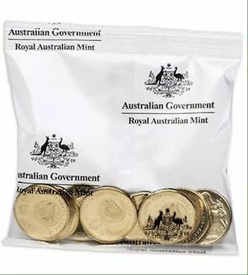 Decimal $1 Mint Roll* ONLY 560K 2016 Decimal Currency 50th Anniversary Aust