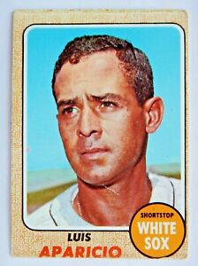 Luis Aparicio #310 Topps 1968 Baseball Card (Chicago White Sox) VG