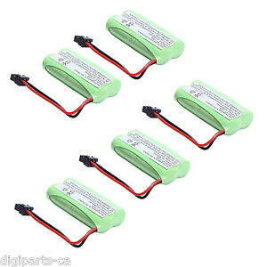 5x 2.4v 800mAh Home Phone Battery for Uniden BT-1021 BT-1025 BT-1008S BT-1008