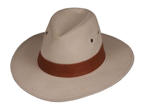 CAPPELLO Scippis coro size L allwetterhut capp sole Outdoorhut cotone lino pelle